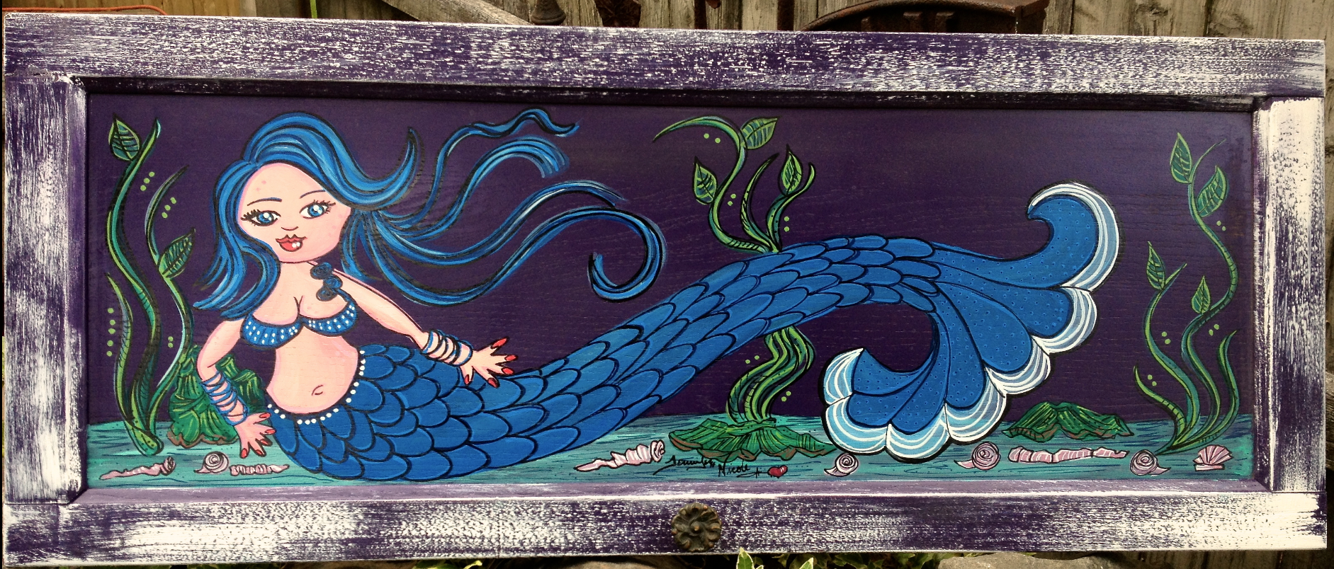 5-22-13 Mermaid Door