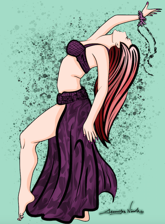 3-16-15 The Belly Dancer