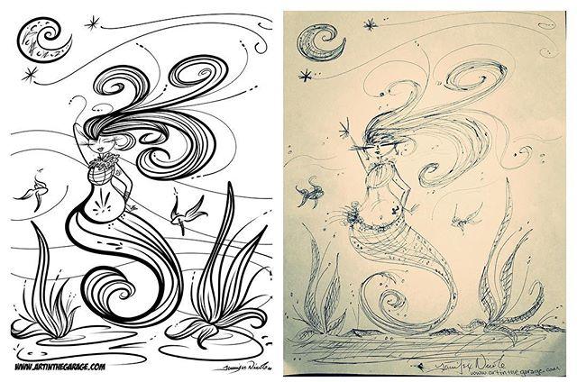 3-5-17 The Mermaid