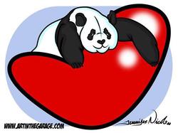 9-8-18 Panda Love