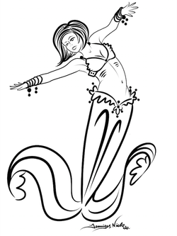 7-2-14 Chic Mermaid Sketch.png