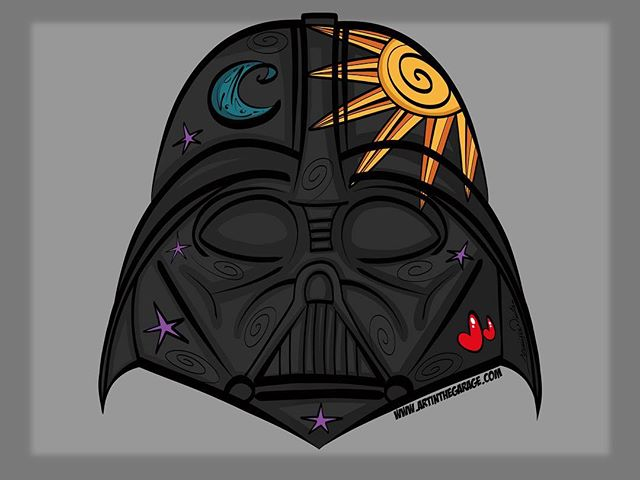 12-5-17 Darth Vadar's Helmet