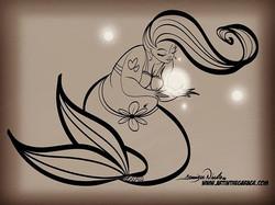 11-8-18 Sketch Mermaid