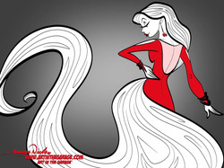 9-23-20 lady In Red