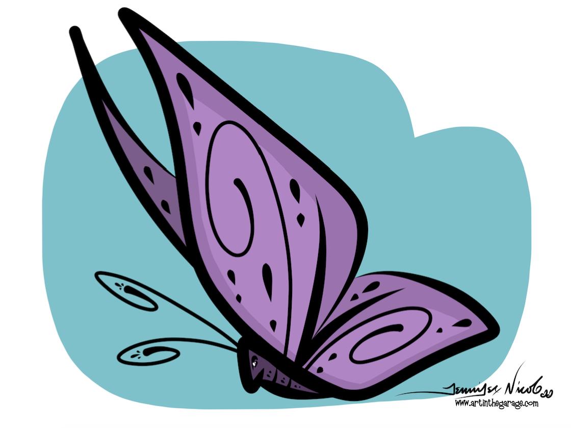 4-17-16 Butterfly