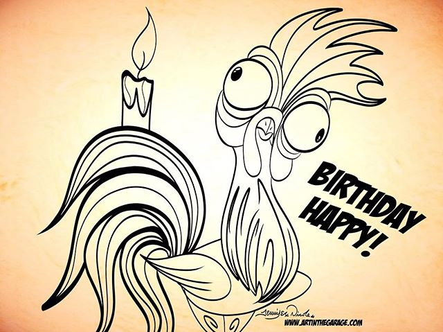 10-15-17 Hei Hei Its Your Birthday!!!