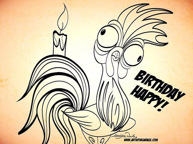 10-15-17 Hei Hei Its Your Birthday!!!