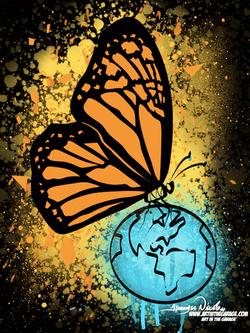 4-30-21 Butterfly World Black BG