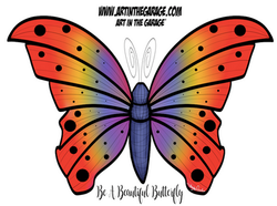 5-24-21 Be A Beautiful Butterfly