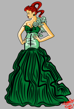 4-12-13 Lady In Green