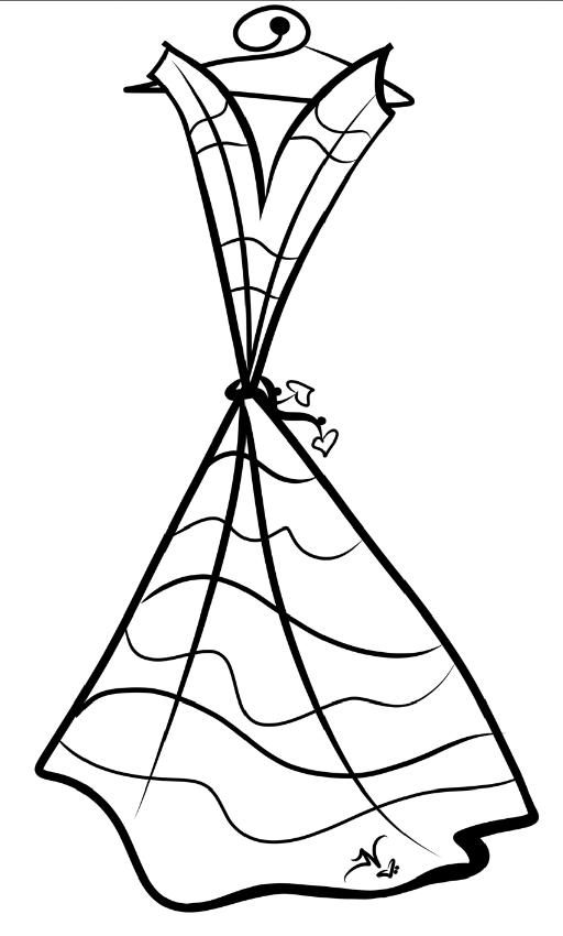 7-18-13 Dress Logo Sketch