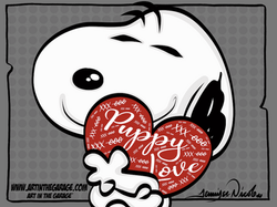 3-25-21 Snoopy Puppy Love