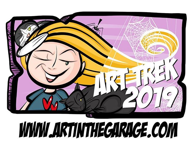 12-21-18 Art Trek 2018 Button