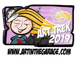 12-21-18 Art Trek 2018 Button