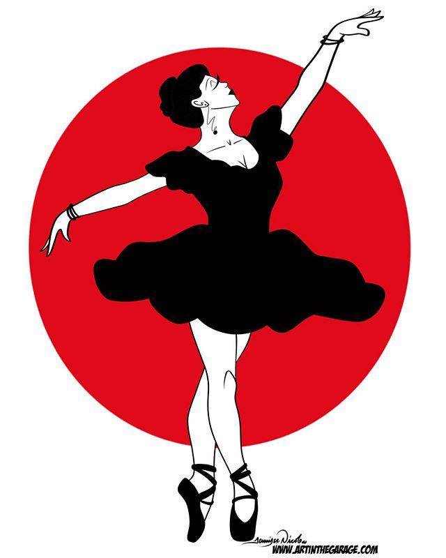 2-13-20 Minimalistic Ballerina