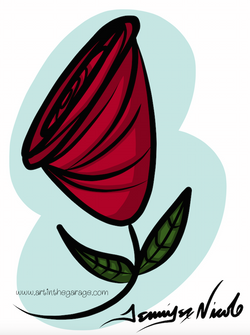 8-8-15 Jacqueline's Rose