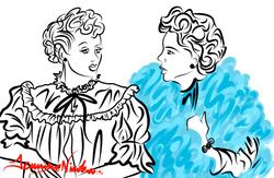 12-9-13 Lucy & Ethel