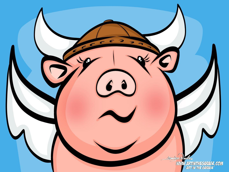 8-8-20 Piggy Valkyrie