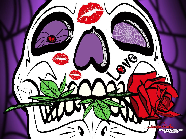 10-19-20 Love Skull