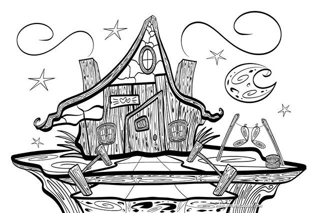 3-26-19 Fairy House. Wooooow..