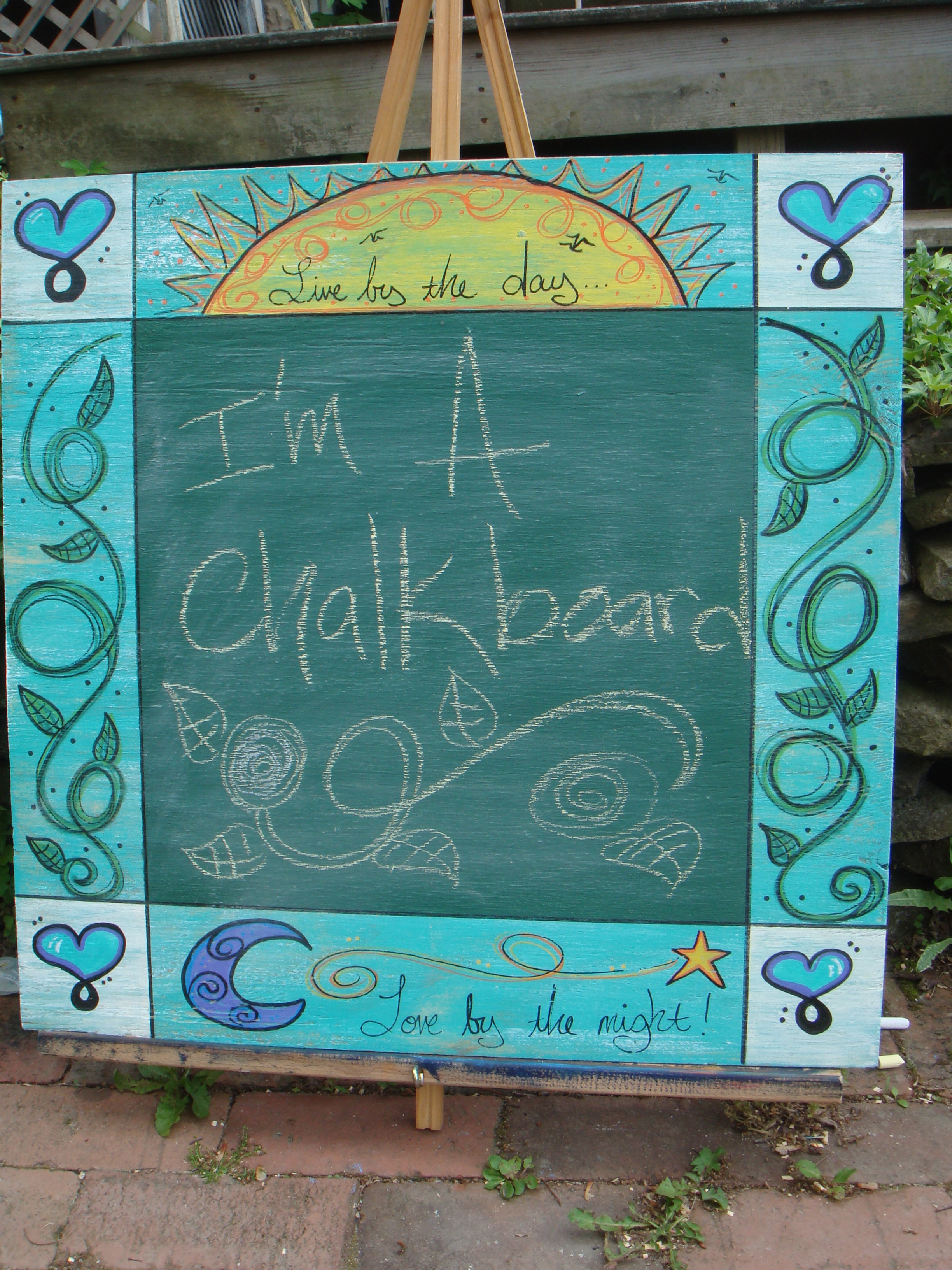 Chalk Board Sign