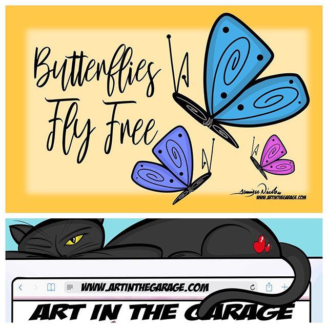 8-24-19 Butterflies Fly Free