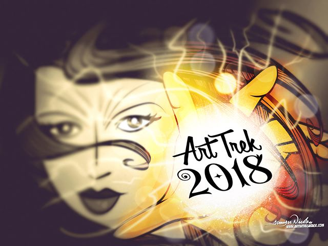 "2-6-18 ""Art Trek 2018"" Artwork & ""Power Of Love"""