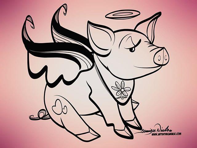 3-1-18 Pretty Piggy