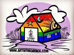 6-13-18 Proud With Pride! #pridemonth #pridemonth2018 #pride #prideflag #love #loveall #artinthegara