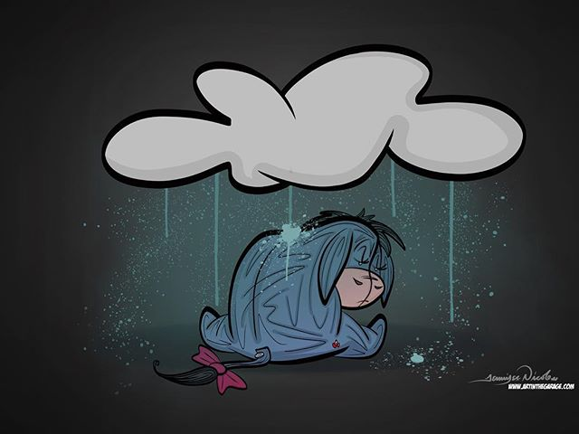 1-5-18 An Eeyore Kind Of Sad. Yeah, I'm no happy camper folks