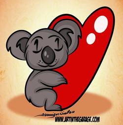 11-19-16  Koala Bear Love