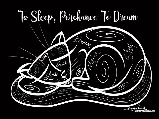 1-31-20 To Sleep Perchance To Dream Kitt