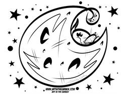 4-6-21 Moon Girl