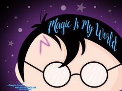 5-5-21 Harry Potter Magic Is My World