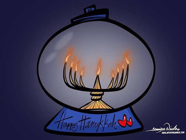 12-12-17 Happy Hanukkah