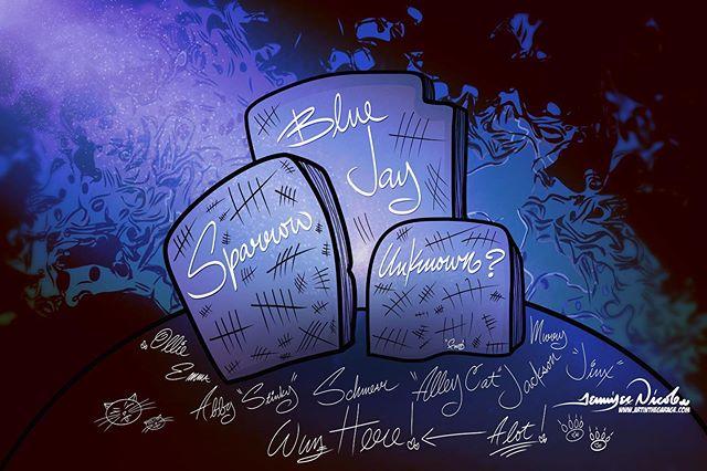 5-15-19 The Shallow Birdie Graveyard