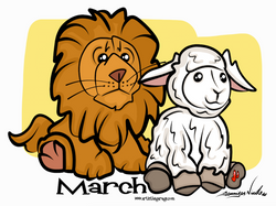 3-1-16 March Lion And The Lamb