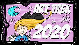 Art Trek 2020 Button