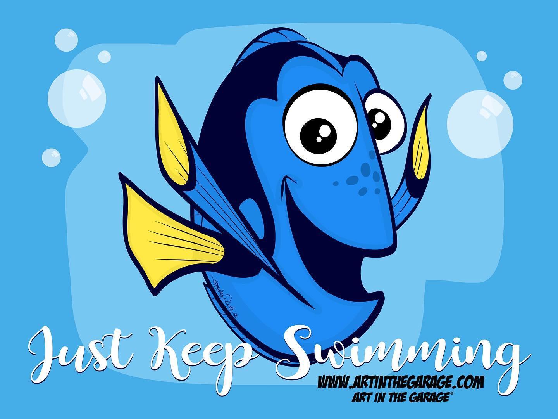 9-25-20 Just Keep Swimming