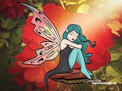 1-21-20 Fairy In The Garden