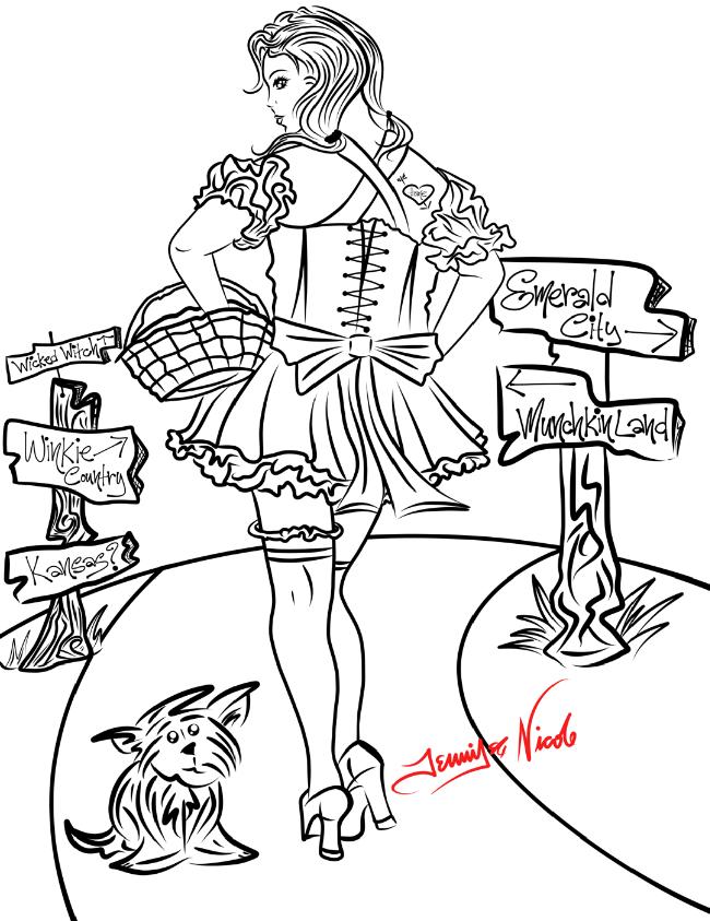 9-5-13 Dorothy In Oz