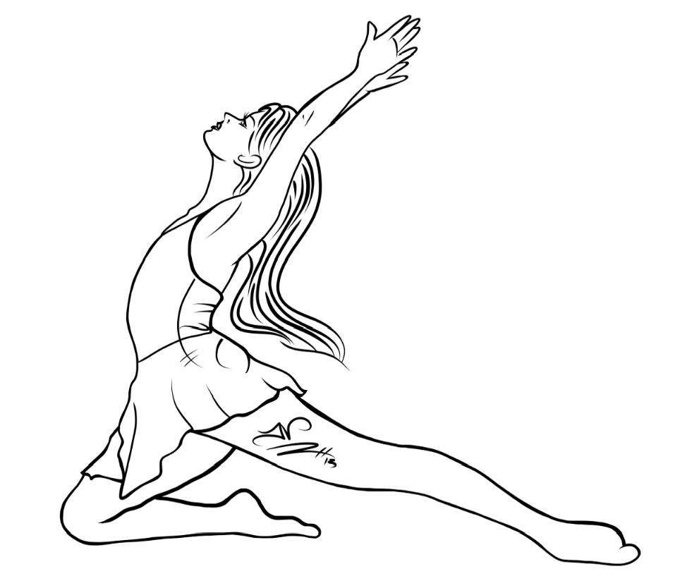 4-17-13 Sketch Dancer