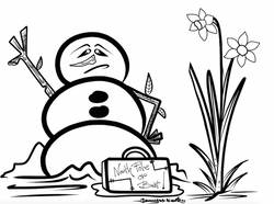 3-6-15 Pack Your Bags Snowman