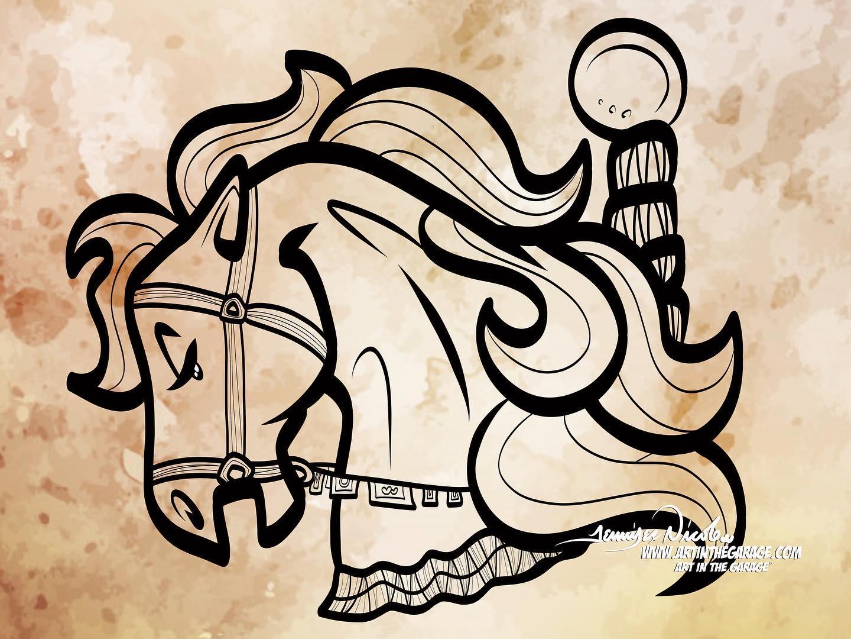 9-18-20 Carousel Horse