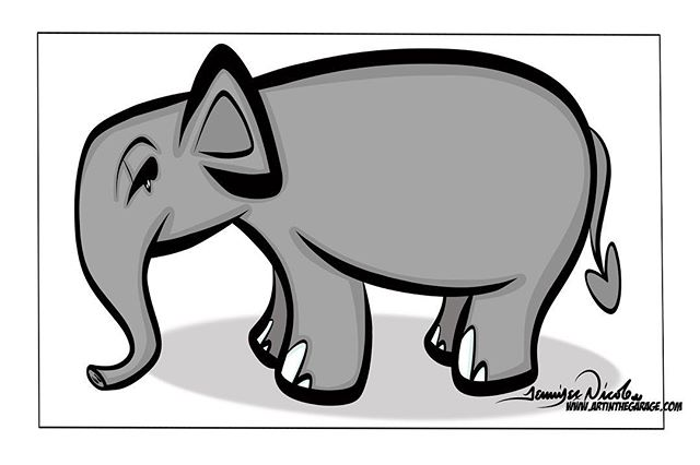 4-1-19 Elephant Love