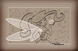 4-4-19 Love Fairy Outline