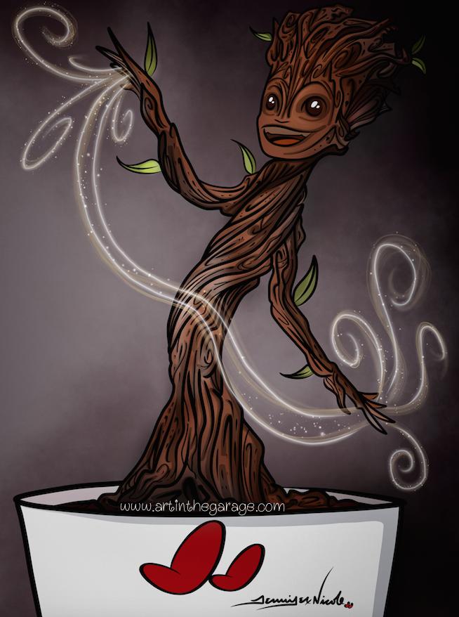 6-17-15 Baby Groot