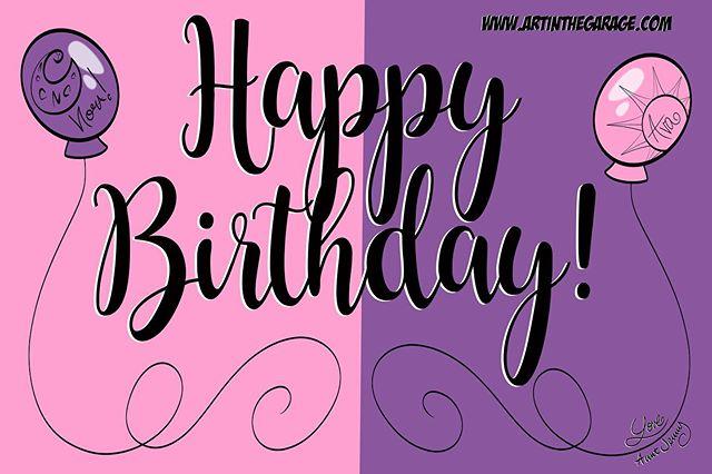 10-16-19 Happy Birthday Girls