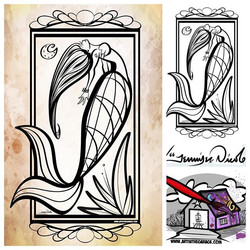 2-4-19 Mermaid Coloring Page By AITG