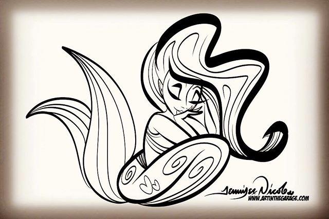 2-10-19 Sleepy Mermaid